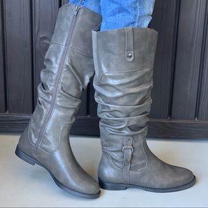 Álamosa Slouch Tall Vegan Boot